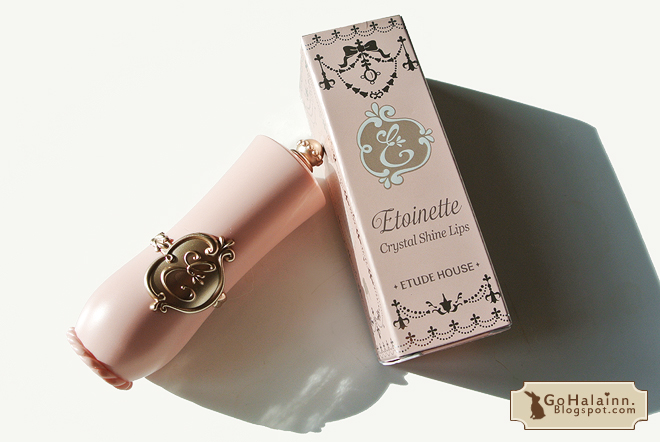Etude House Etoinette Crystal Shine Lips PBE001 Review