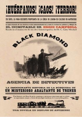 Agencia de detectives Black Diamond ,Eddie Cambell, C. Gaby Mitchell,Astiberri  tienda de comics en México distrito federal, venta de comics en México df