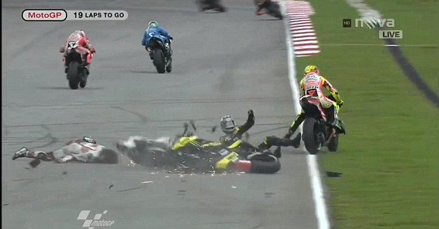 Marco Simoncelli Crash Motogp Malaysia Car Under 500