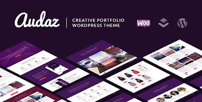 free Download Audaz Creative Portfolio MultiPurpose Wordpress theme