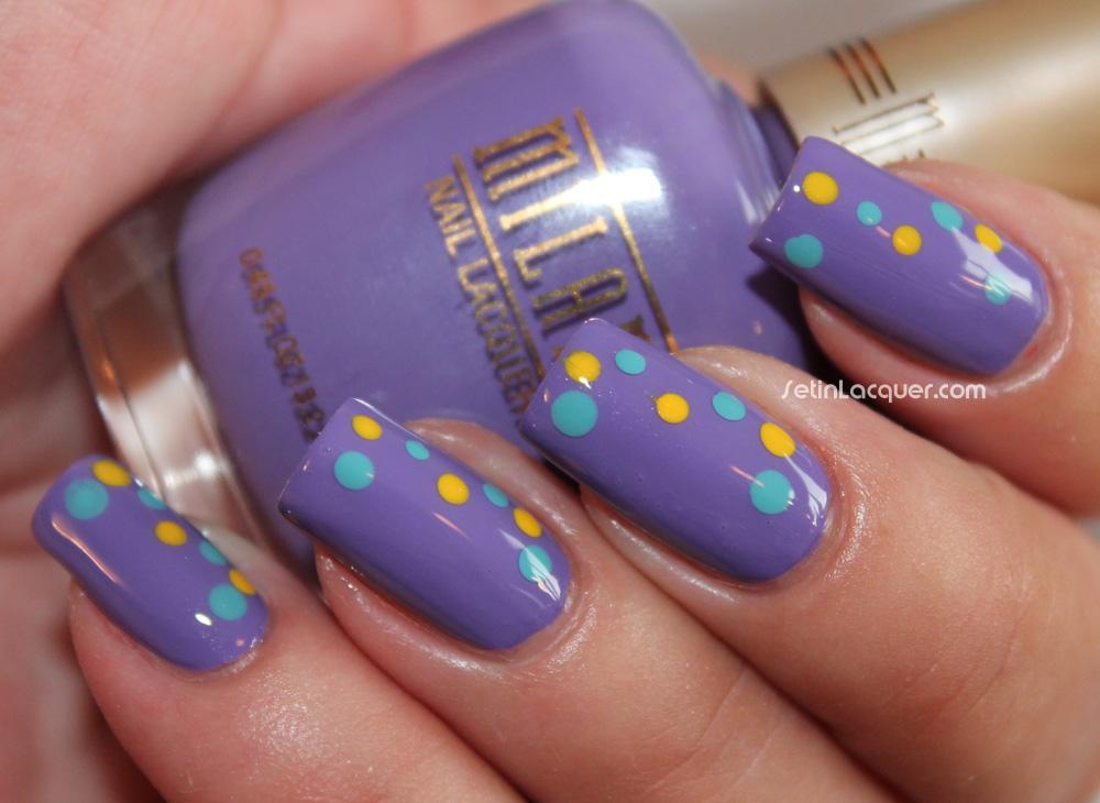 Milani dotticure nail art