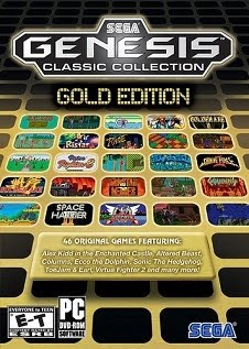 Sega Mega Drive Classic Collection Gold Edition   PC