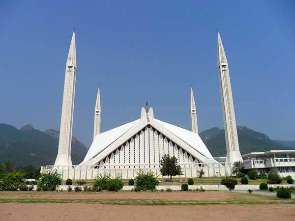 Faisal Masjid In Islamabad | Photograph In Day Light
