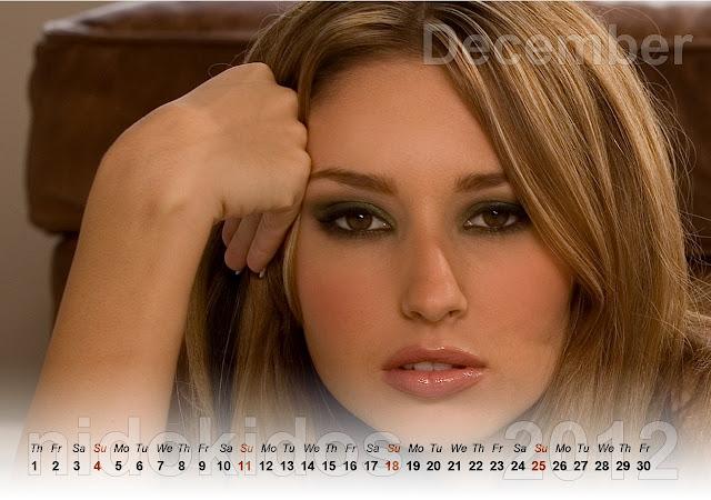 Wallpapers name shay laren calendar 2012