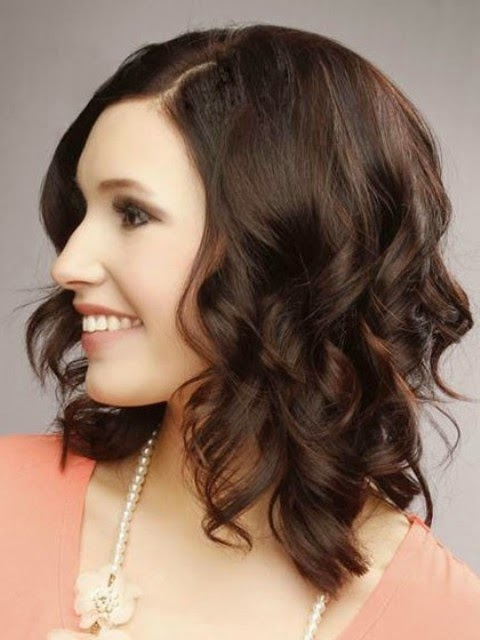medium length hairstyles 2014 round face hairstyle 2014
