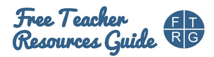 Free Teacher Resources Guide: Worksheet Works