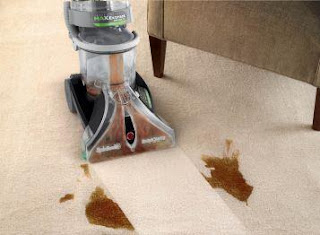 hoover max extract in action