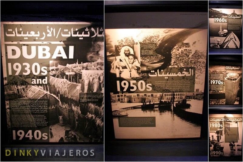 Dubai Museum. Exposición