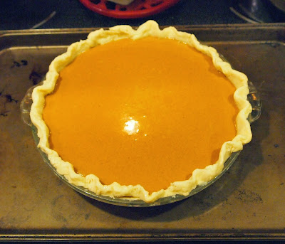 Baking the pie on a preheated cookie sheet gives the bottom crust a ...