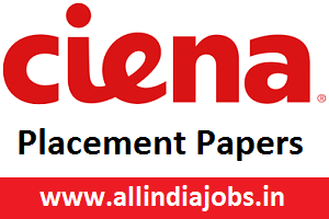 Ciena Placement Papers