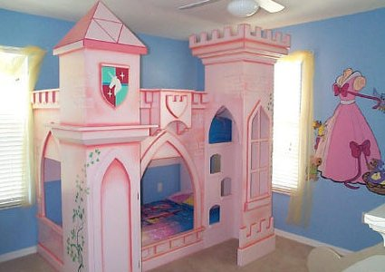 Dormitorio estilo princesa para ni a mujer tu rinconcito - Camas princesas para nina ...