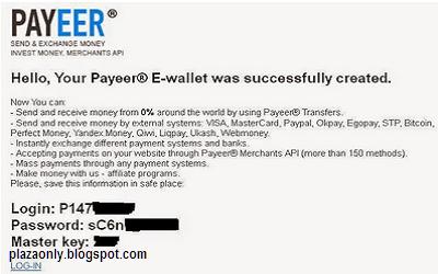 Cara Mendaftar Akun Payeer