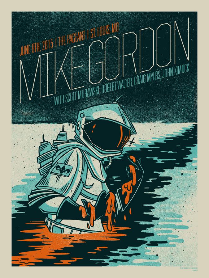 Inside The Rock Poster Frame Blog John Vogl Mike Gordon