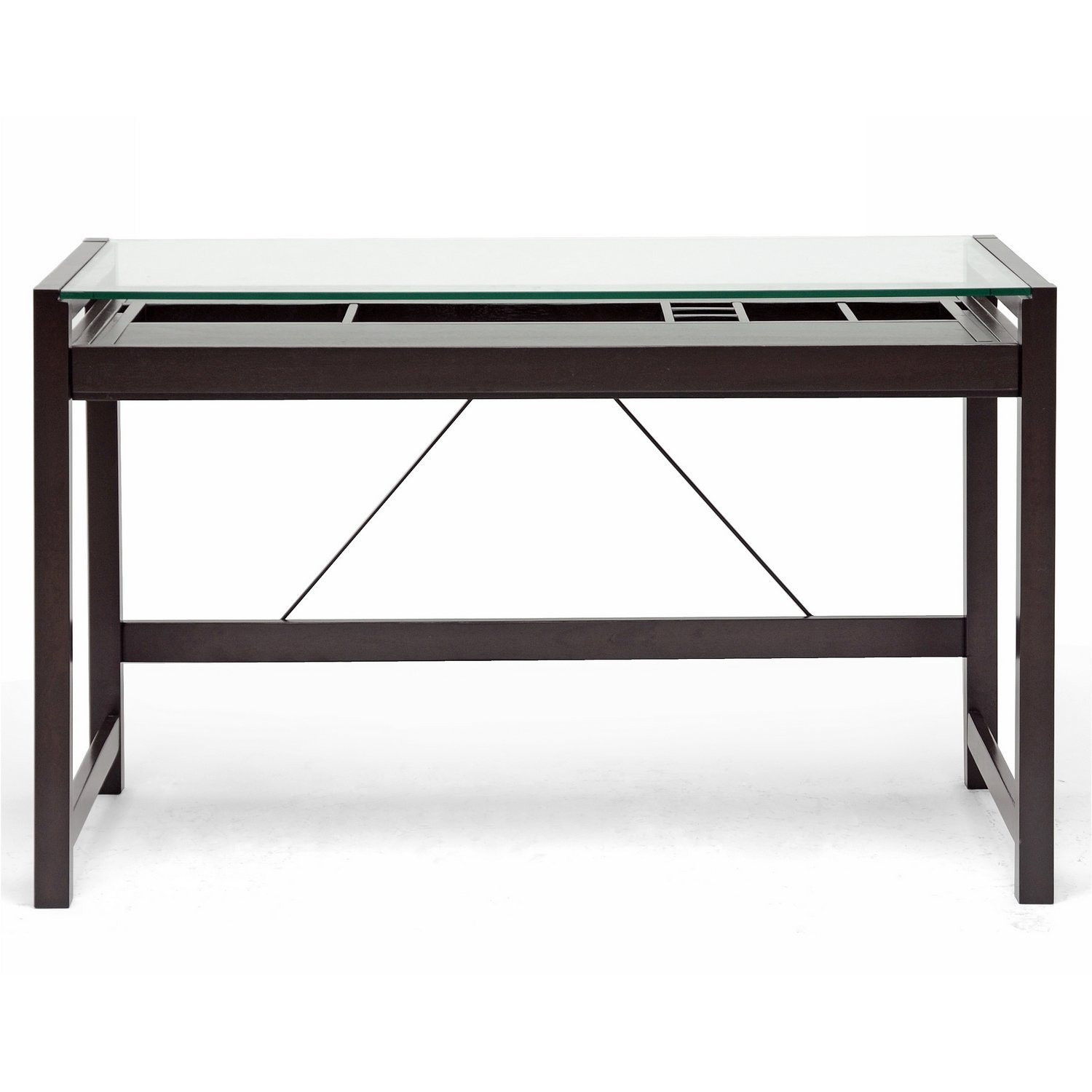 Glass Desk Black Glass Desk