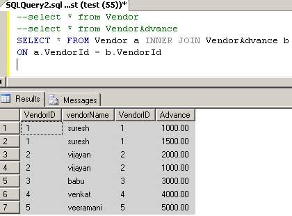 Key Joins In Sql Server