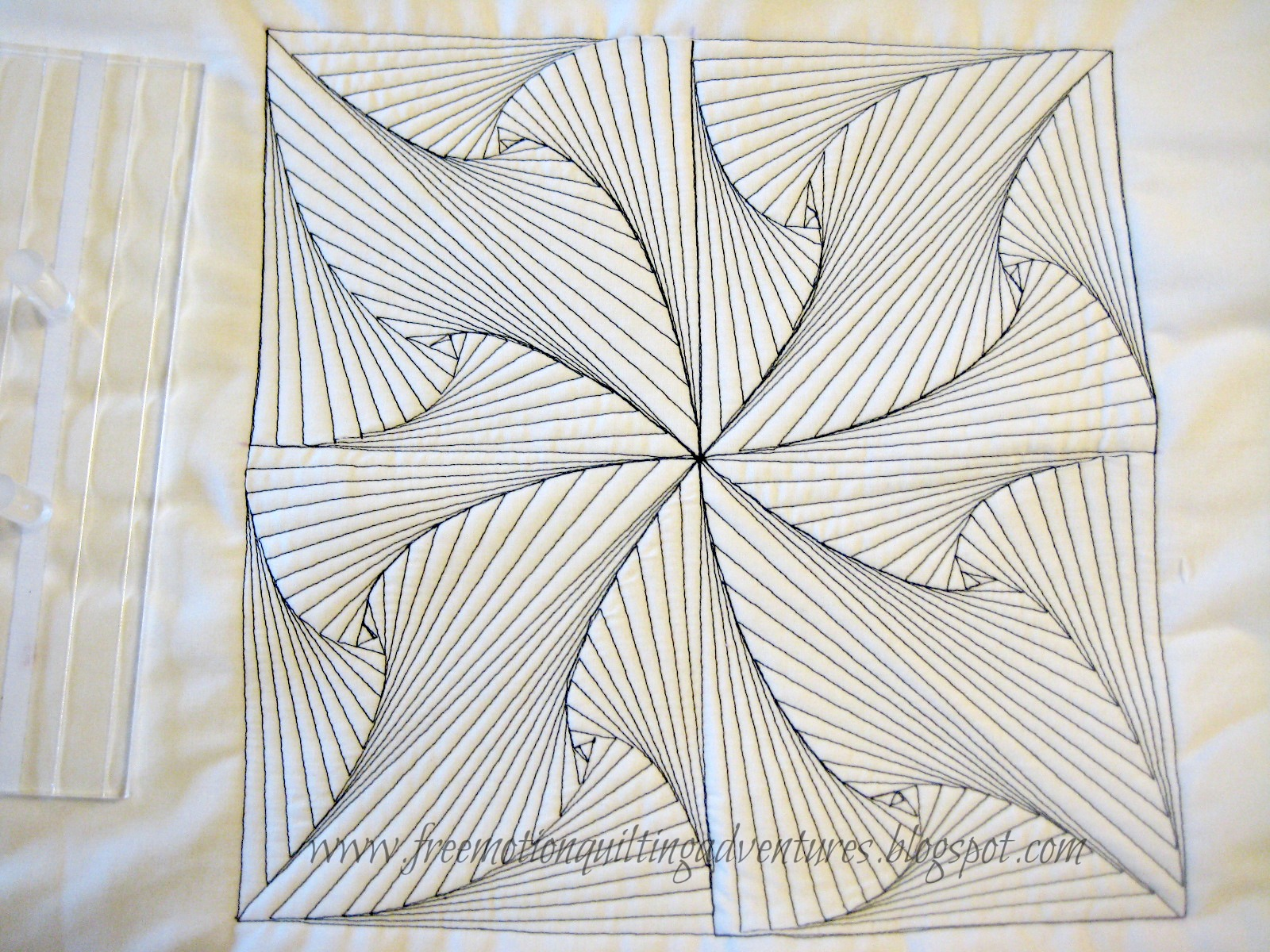 Drawing Lines For Quilting : Amy s free motion quilting adventures with