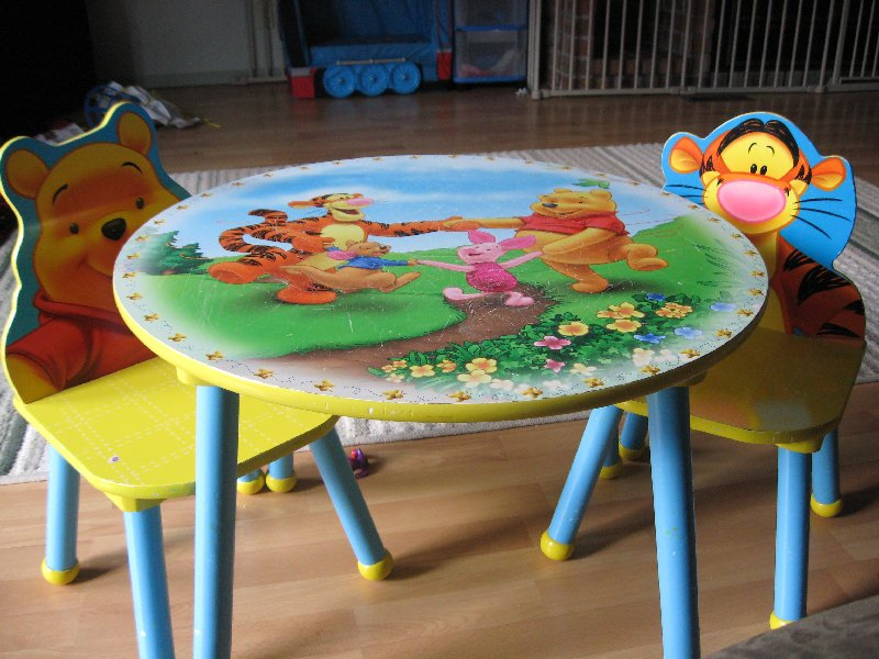 Winnie the Pooh Table and 2 Chairs - $25 & CKDR Toy Sale: 2011