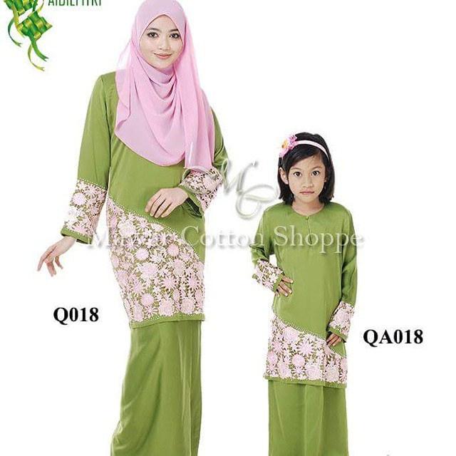Fesyen terkini ibu dan anak model baju couple modern ibu Baju gamis couple ibu ayah anak