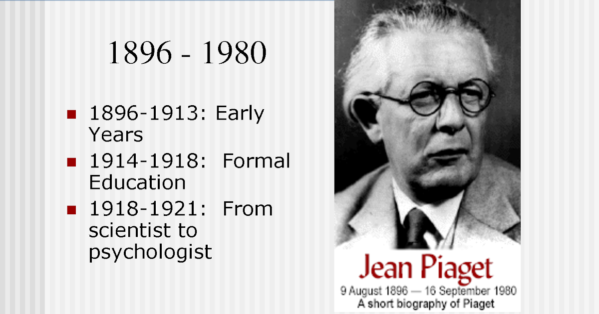 jean piaget u0026 39 s cognitive development theory  who is jean piaget