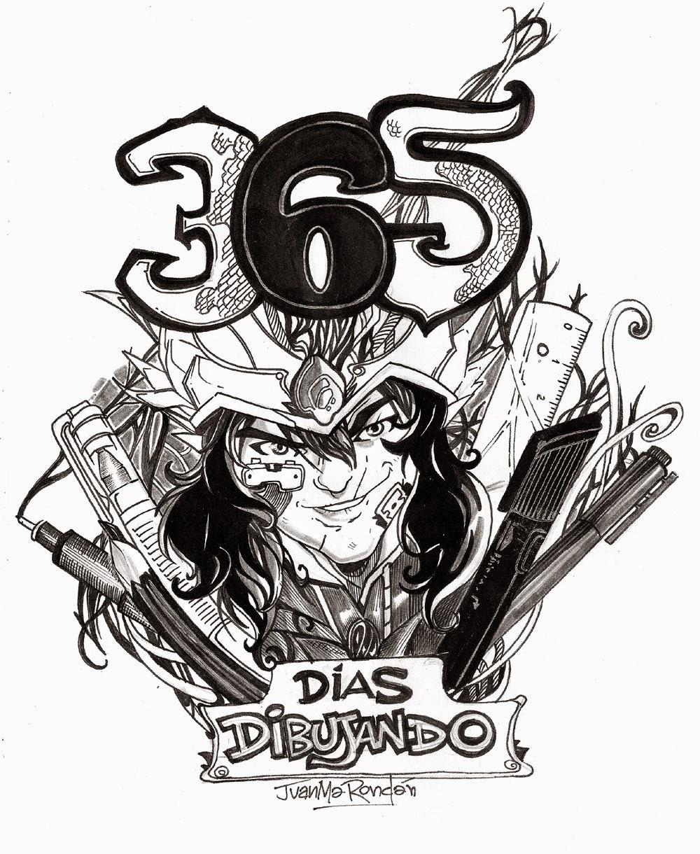 365 dias dibujando