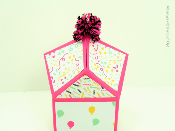 It's My Party Multifaceted Box Tutorial