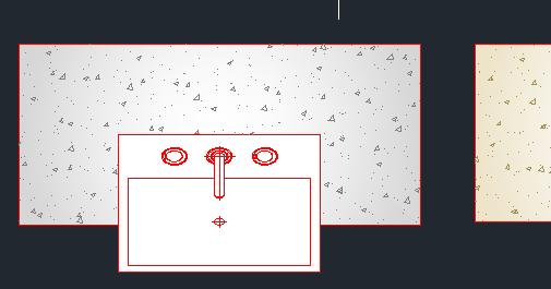 Blocos de AutoCAD  Pias com bancada de granito ~ Blog Edificar # Bloco De Pia De Banheiro Para Autocad