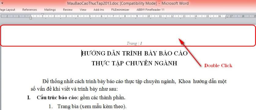 Cách xóa bỏ đánh số trang trong word 2007 2003 2010