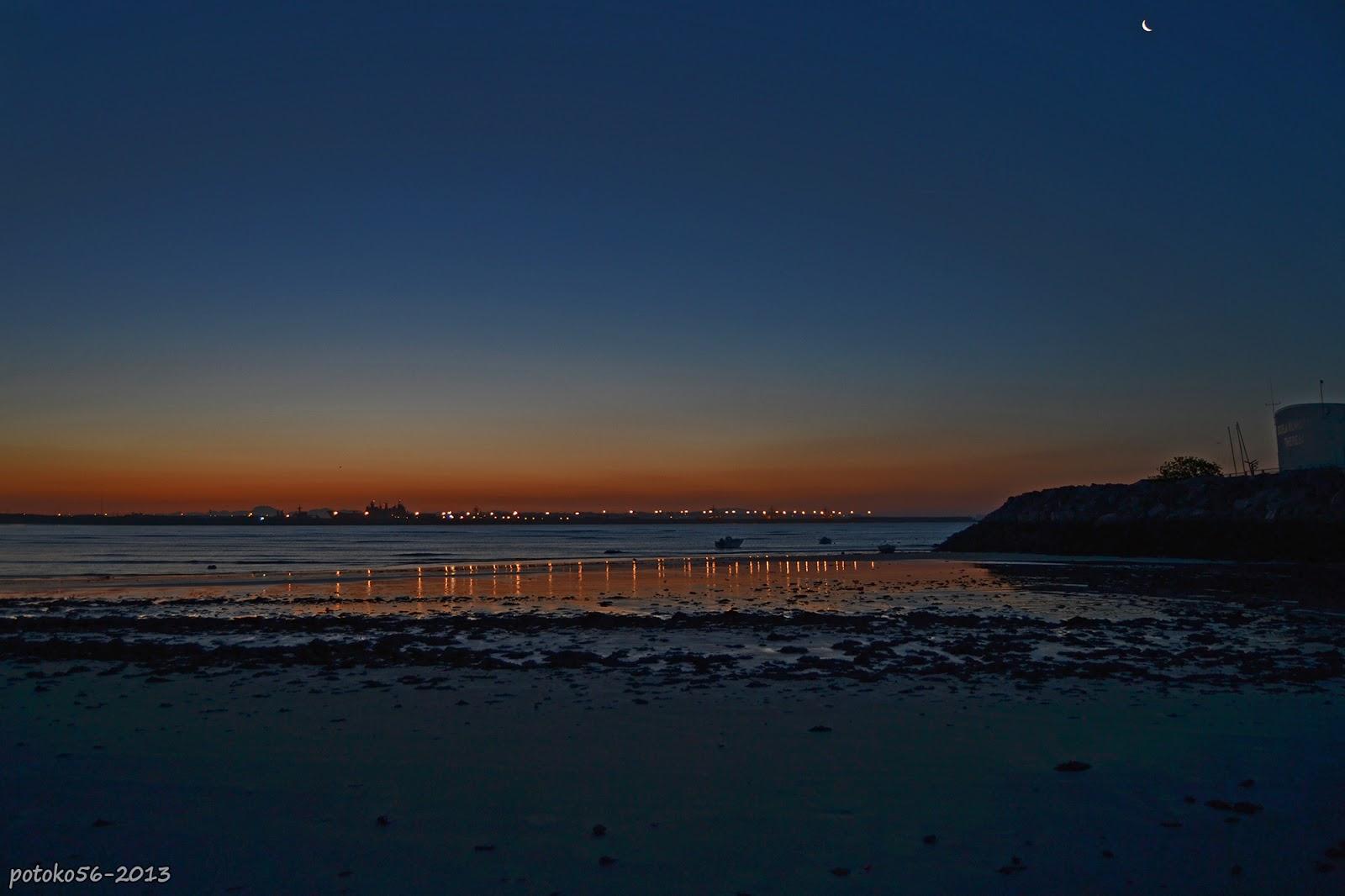 Amanece en Rota Playa del Chorrillo