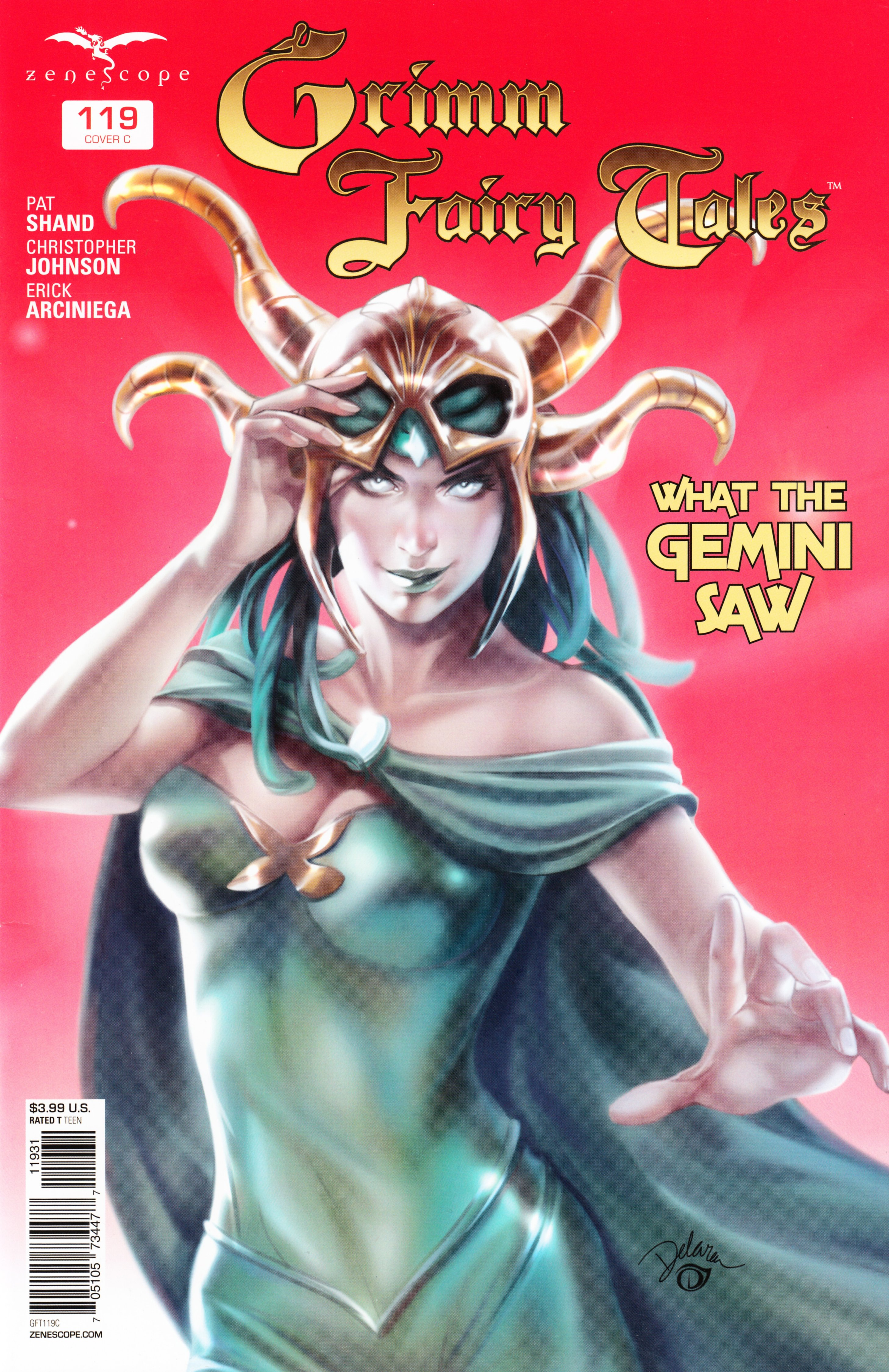 Grimm Fairy Tales (2005) Issue #119 #122 - English 3