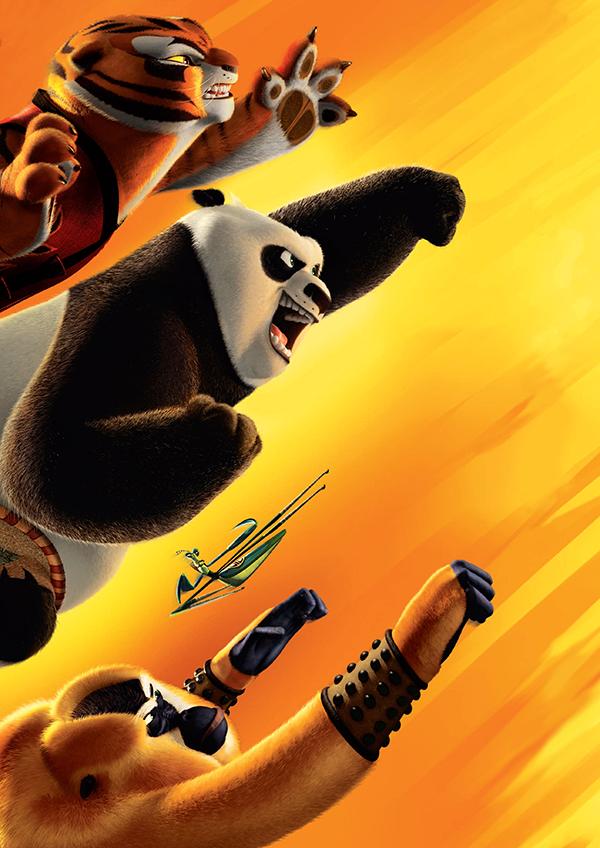 Miscellan es pop culturelles critique kung fu panda 2 - Les 5 cyclones ...