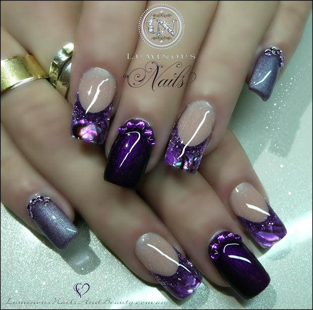 luminous nails june 2013