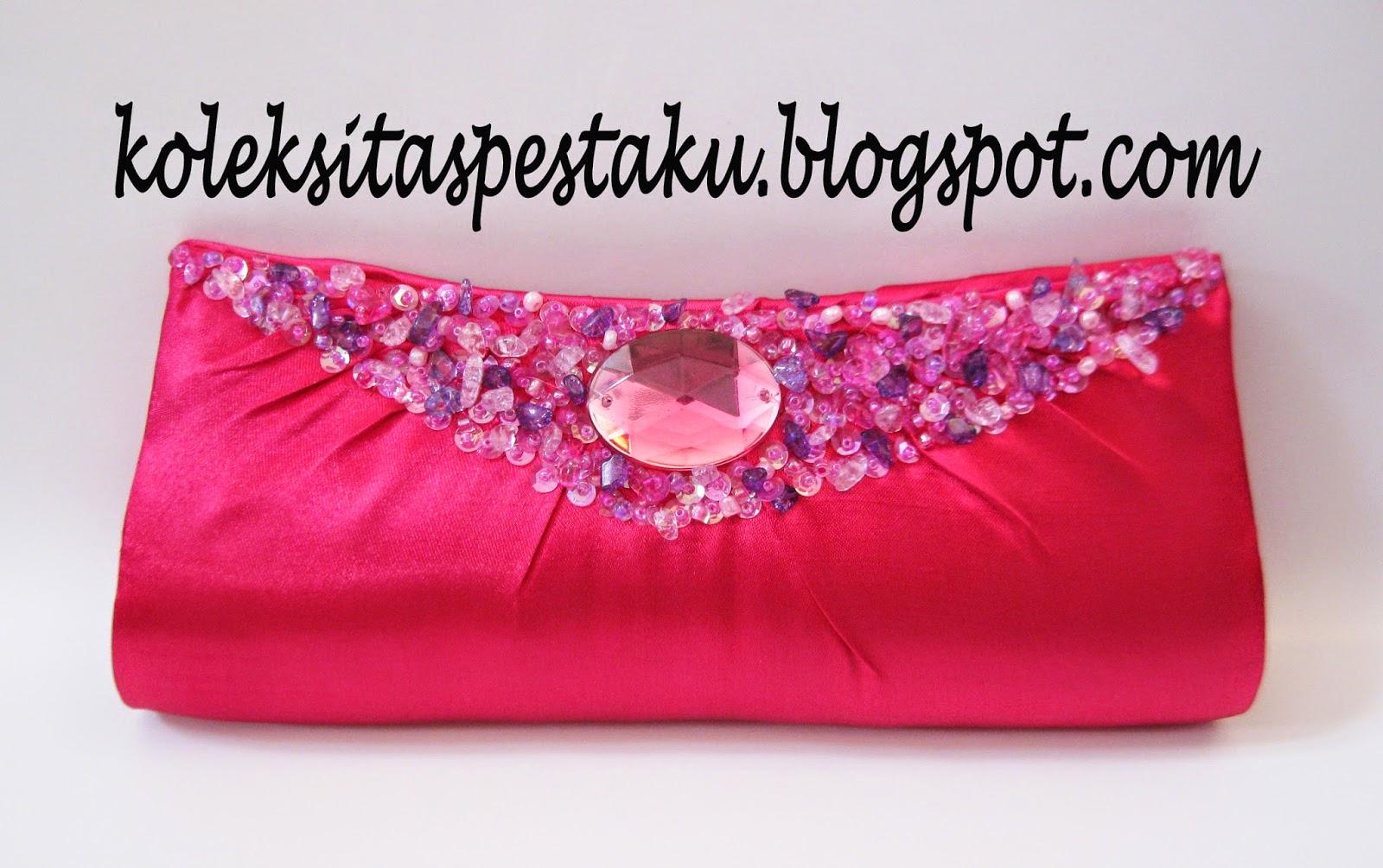 Pink Fanta Clutch Bag Cantik dan Elegant