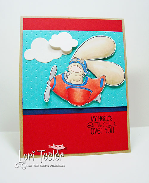 In the Clouds card-designed by Lori Tecler/Inking Aloud-stamps and dies from The Cat's Pajamas