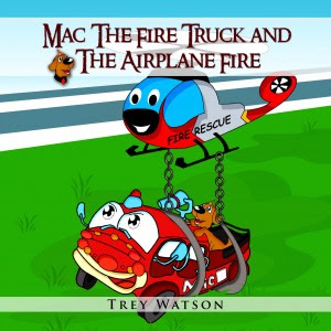 Mac The Fire Truck and The Airplane Fire