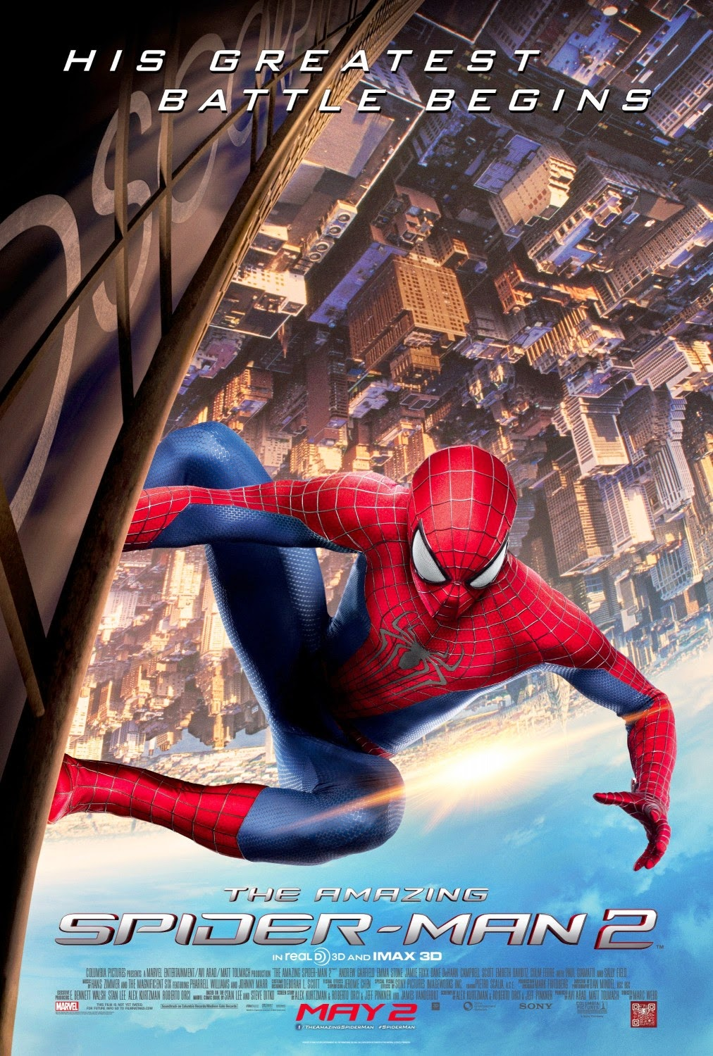 Zachary S Marsh S Movie Reviews Review The Amazing Spider Man 2 3d