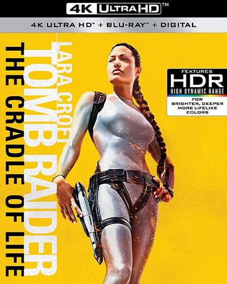 Lara Croft Tomb Raider: The Cradle of Life 4K (Lara Croft Tomb Raider: La cuna de la vida 4K) (2003) 2160p 4K UltraHD HDR BluRay REMUX 48GB mkv Dual Audio DTS-HD 5.1 ch