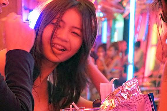 Pretty Thai Bar Girl