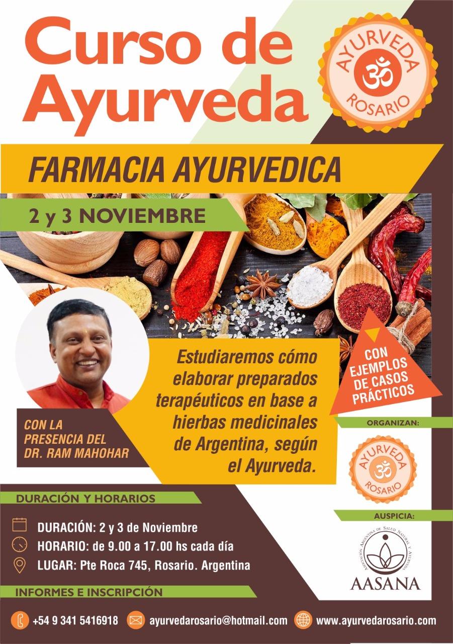 CURSO FARMACIA AYURVÉDICA