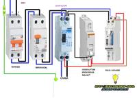 manual automatico contactor monofasico reloj horario