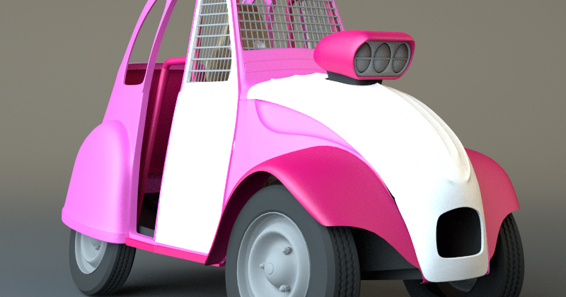 kr u00e9mento  2cv cross cartoon  suite et fin