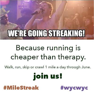 #Milestreak