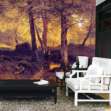 Regalos caros murales de pared decorativos el bosque for Murales decorativos pared