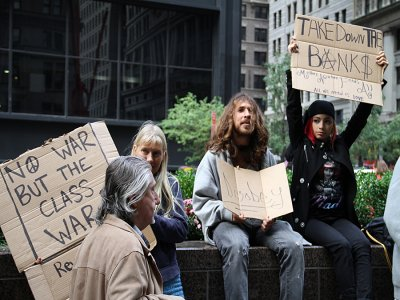 Do all Liberals potty train on Black and White Paper with Flashing Lights like the OWS crowd?