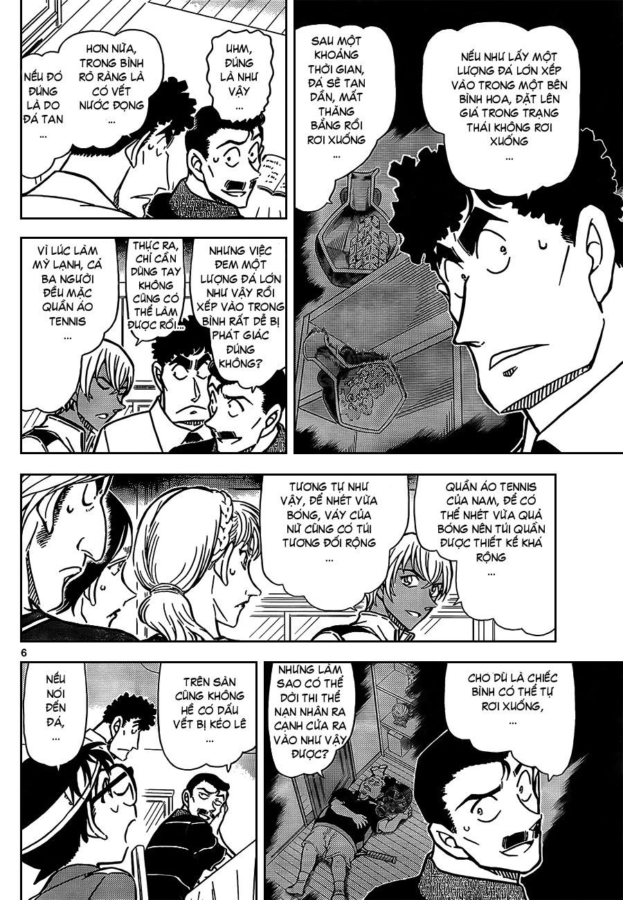 Detective Conan - Thám Tử Lừng Danh Conan chap 827 page 8 - IZTruyenTranh.com