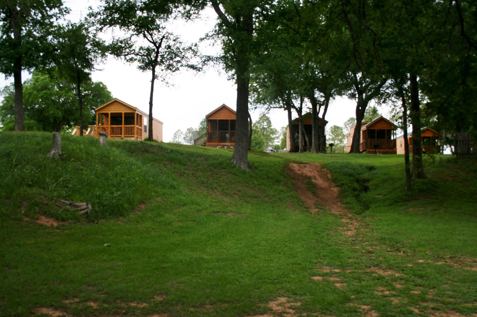 Looking Up From The Brazos River Side, You Can See Some Of Their Newer  Cabins That Are For Rent. Just Beyond These Cabins Is Another Path That  Leads You ...