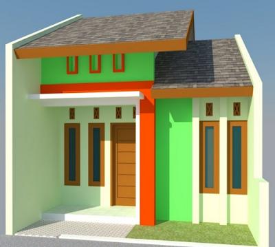 desainn rumah kecil minimalis 1lantai sederhana