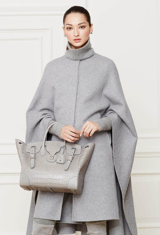 Ralph Lauren Accessories Alligator Soft Ricky Handbag
