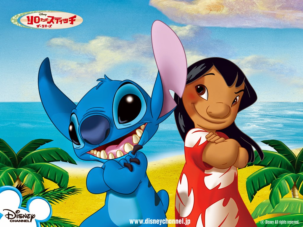 It is an image of Crazy Pictures of Lilo & Stitch