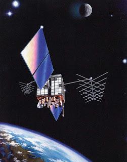 לווין GPS בחלל