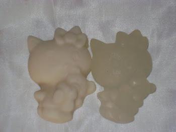 Jabon Kitty de Coco y de Glicerina